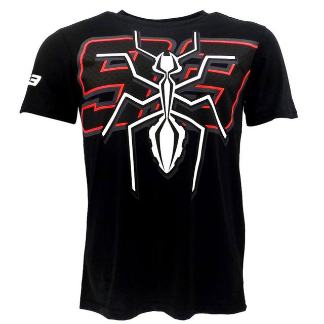 Marc márquez grande 93 moto gp hormiga camiseta negro sport racing camiseta de los hombres