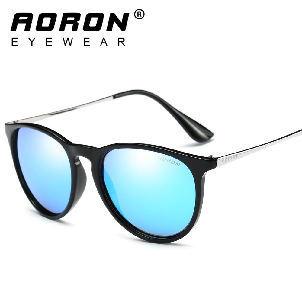 Image AORON Alloy Wrap Polarized Women Sunglasses Fashion brand designer Vintage Driving Sun Glasses For Men Women 4171