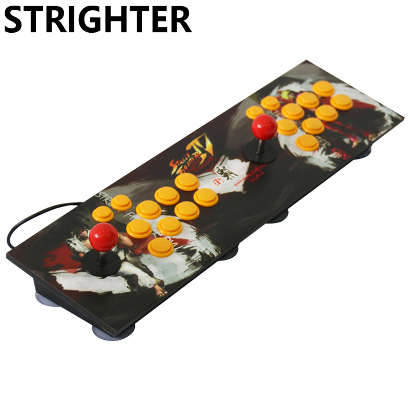 arcade joystick pc computer game usb connector street fighters Joystick Consoles usb Stationary Double Consoles for PC pandora s box arcade joystick for ps3 controller computer game arcade sticks new street fighters joystick consoles