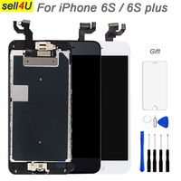 Full parts For iPhone 6S 6S plus LCD Display screen ,Touch Screen Digitizer Replacement ,with front camera speaker home button