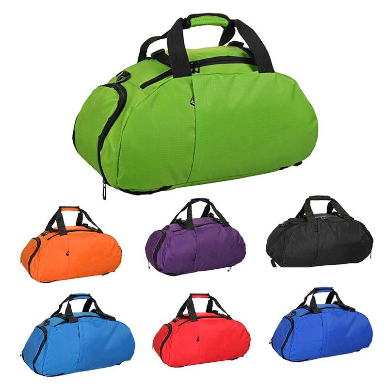 Водонепроницаемый Фитнес спортивная сумка Для мужчин Для женщин Открытый Фитнес сумка Портативный Тренажерный Зал Сумка Сверхлегкий Yoga Bag Открытый Тренажерный зал Спортивный Рюкзак
