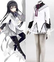 Japanese font b Anime b font Akemi Homura Puella Magi Madoka Magica font b cosplay b