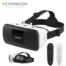 c3d77adfda19 VR Shinecon Pro Virtual Reality 3D Glasses VR Google Cardboard Headset Box  Glasses Virtual for 4-6.0 inch ios Android Smartphone