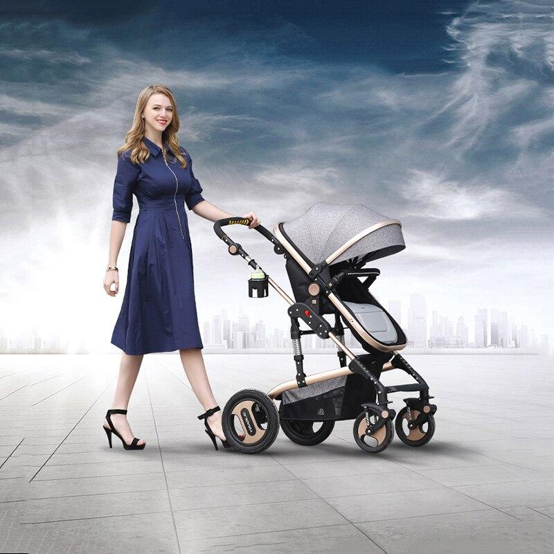 Bedora cochecito de bebé alto paisaje recién nacido plegado empuje - Actividad y equipamiento para niños - foto 3