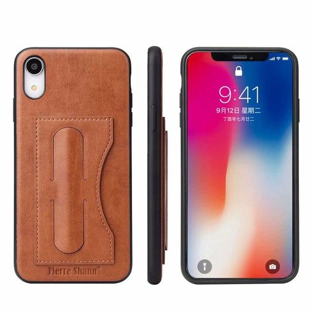 Funda de cuero para iphone, funda de lujo para iphone 12 mini 11 pro xs max x xr 6 s 7 8 plus Se 2020