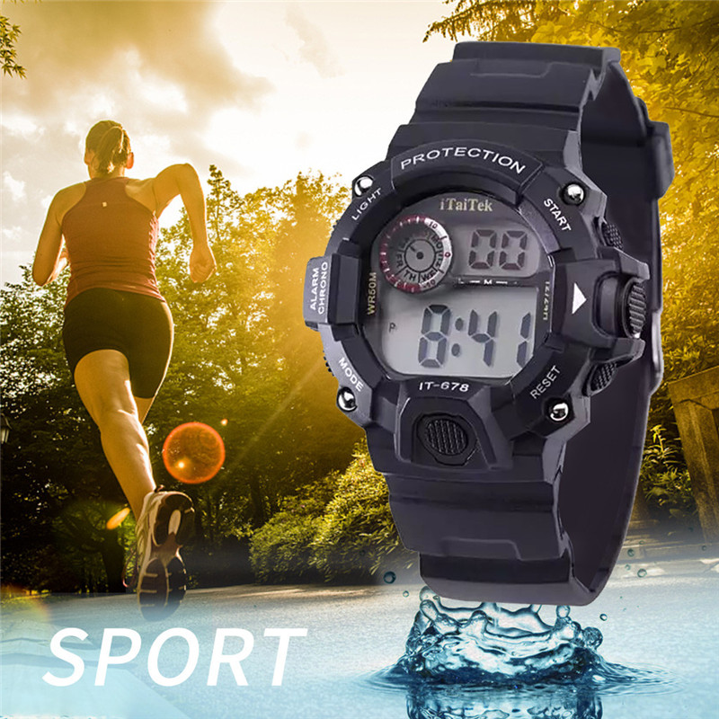 Permalink to Children's watches Multi Function Luminous Waterproof Sports Fashion Electronic Watch fitness watch for children relogio digital