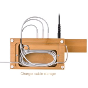 Image 4 - SZYSGSD טבעי עץ מטען מחזיק מעמד עבור iPhone X 8 7 מטען Dock עבור אפל שעון תחנת טעינה עבור אפל airpods להחזיק