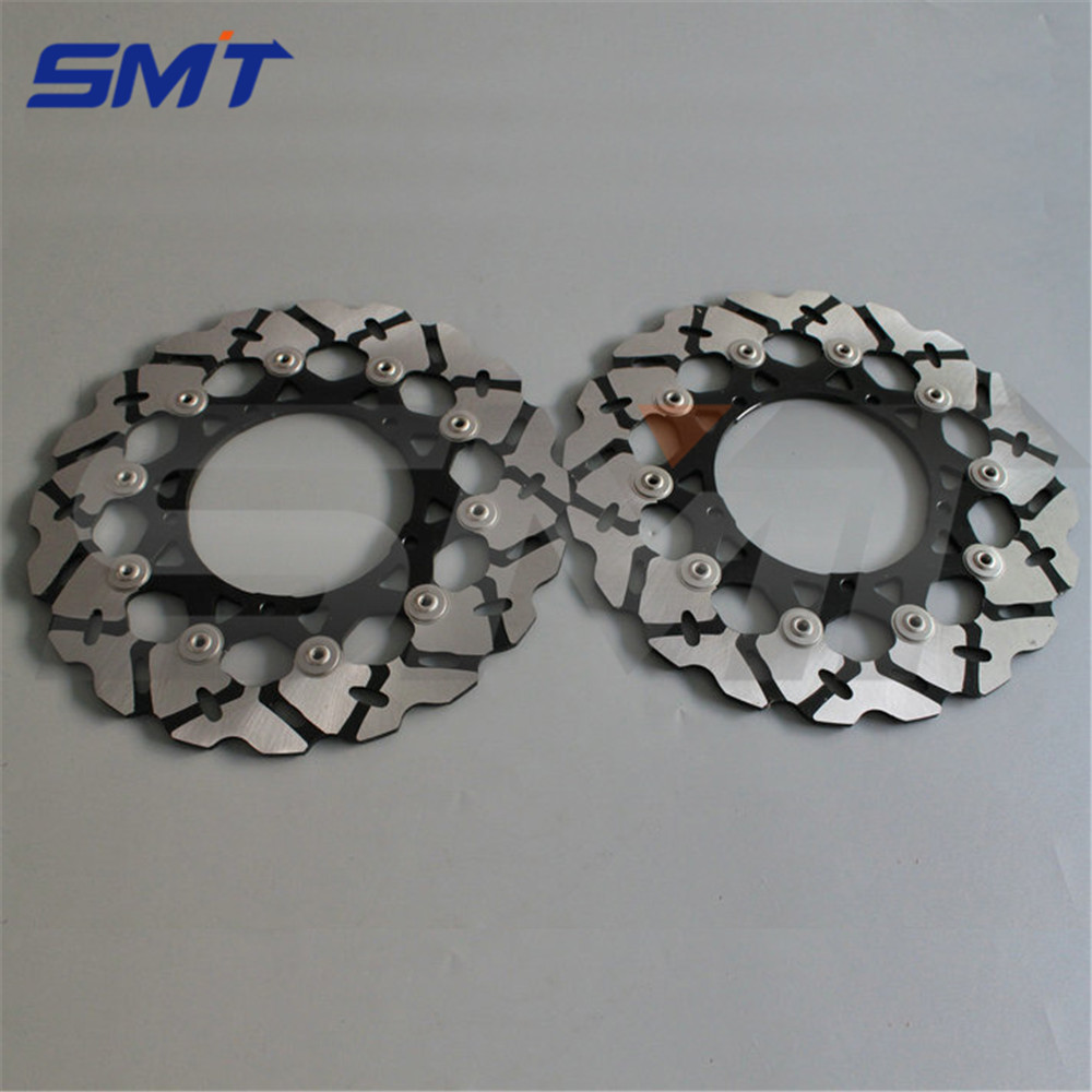 high quality motorcycle Accessories front brake disc rotor For YAMAHA YZF R6 2005 2006 2007 2008 2009 2010 2011 2012 2013 aftermarket motorcycle parts frame plugs for yamaha 2006 2007 2008 2009 2010 2011 2011 2012 yzf r6 yzf r6