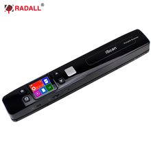 Free Shipping! Portable handheld document scanner a4  book high speed scanning output format JPG, PDF and TXT for office
