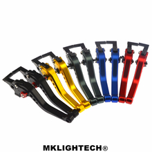 MKLIGHTECH FOR HONDA CBR600RR 2003-2006 CBR954RR 2002-2003  Motorcycle Accessories CNC Short Brake Clutch Levers