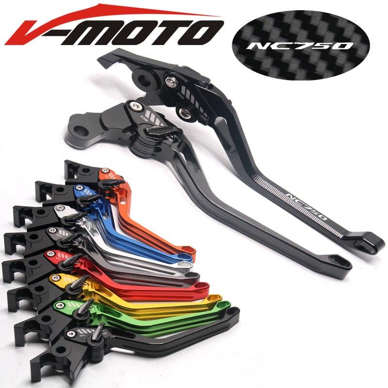 CNC New 3D Rhombus Motorcycle Brake Clutch long Lever  For HONDA NC 750X NC750X NC 750S  NC750S  NC750 NC 750 2014-2016