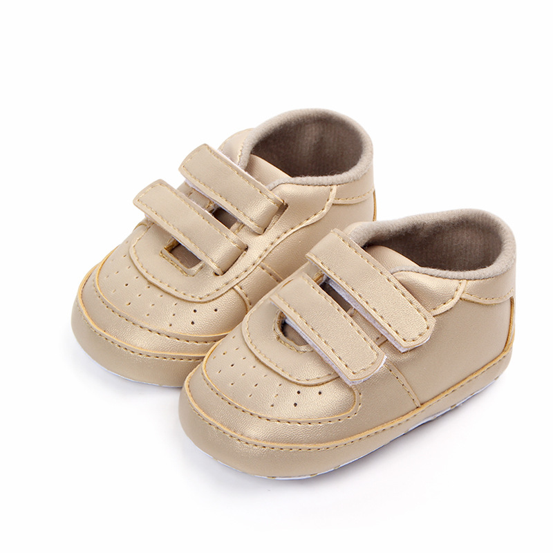 Baby Moccasins Infant Boy Shoes PU Leather First Walkers Soft Sole Newborn Baby Sneakers Sports Baby Shoes Boys Footwear