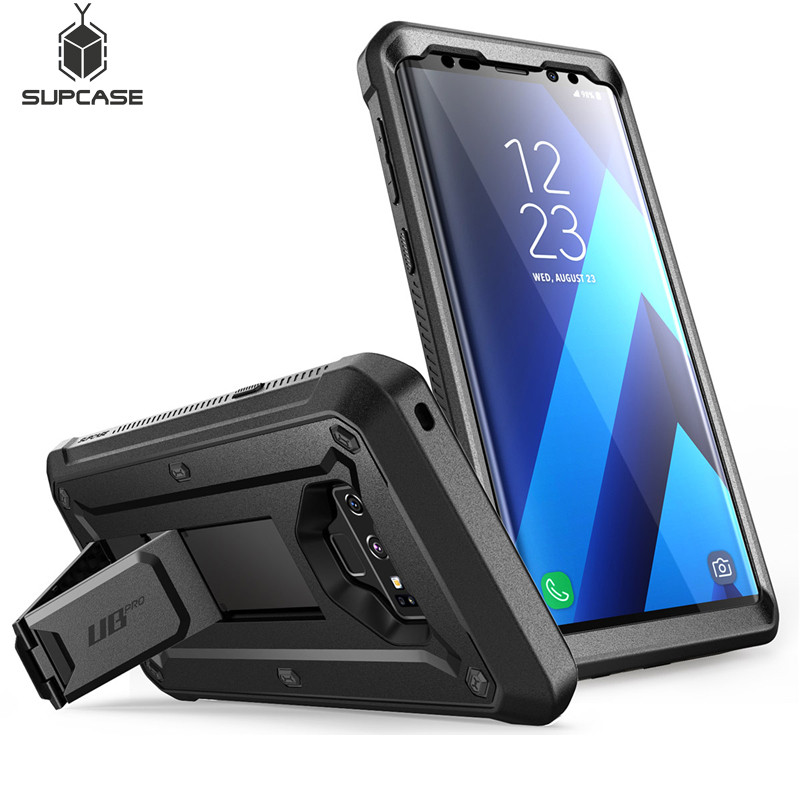 innovative design 7508f efd67 US $19.99 |SUPCASE For Note 9 Case UB Pro Full Body Rugged Holster Cover  with Built in Screen Protector&Kickstand For Samsung Galaxy Note 9-in  Fitted ...