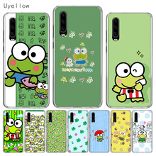 Uyellow Silicone Soft Phone Case For Huawei P10 P20 P30 Lite Pro Hawei Mate 10 20 lite P Smart 2019 Cute keroppis Frog Cover