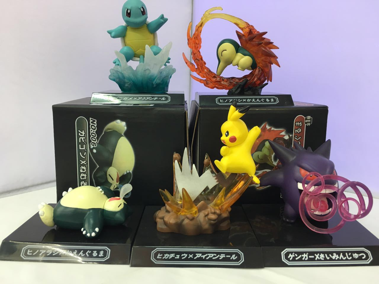 WVW 4.5-11CM Pocket Monster Cyndaquil Squirtle Snorlax Pikachu Model PVC Toy Action Figure Decoration For Collection Gift 50pcs lot 4 7cm pikachu pvc figure toys cute pocket pikachu mini action figures model toy for children gifts random delivery