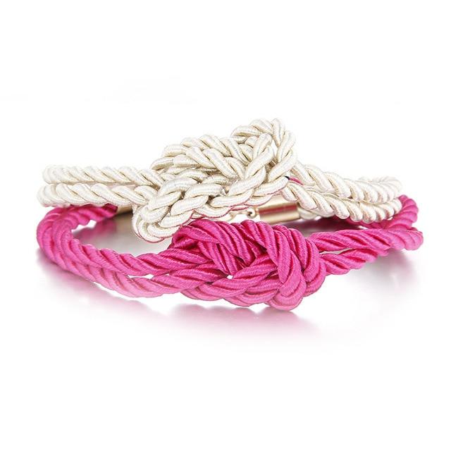 2017 Cheap bracelets femme wrap rope infinity beach bracelet
