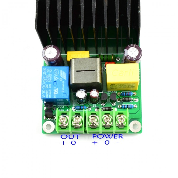 L15D PRO IRS2092S Audio Amplifier Board 300W Class D Digital Mono Amplifier Board with Relay Protection