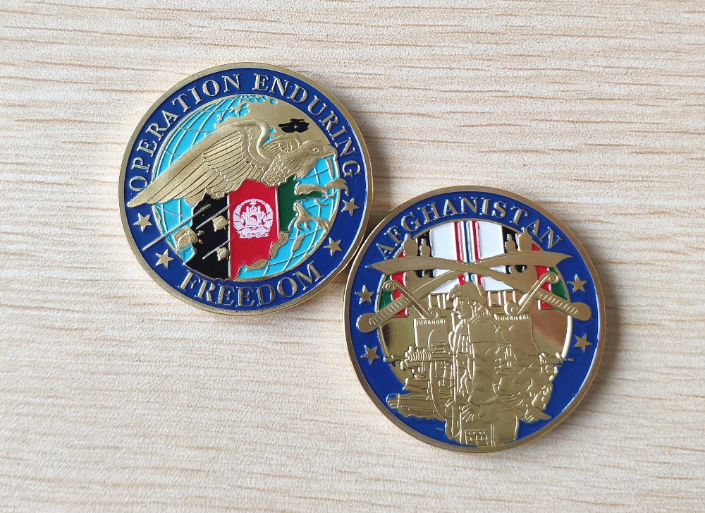 Operation Enduring Freedom Afghanistan Challenge Coin  (4)
