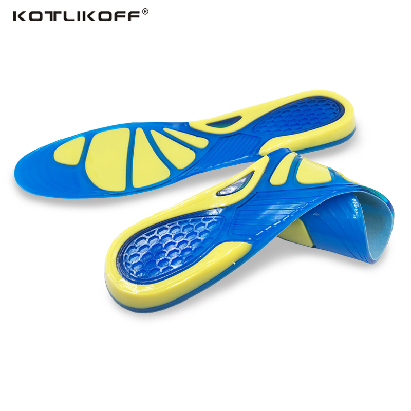 KOTLIKOFF Gel Pad Silicone insoles pads sole gel pad men insole women insole shoes accessories silicone sport shoe inserts kotlikoff arch support insoles massage pads for shoes insole foot care shock women men shoes pad shoe inserts shoe accessories