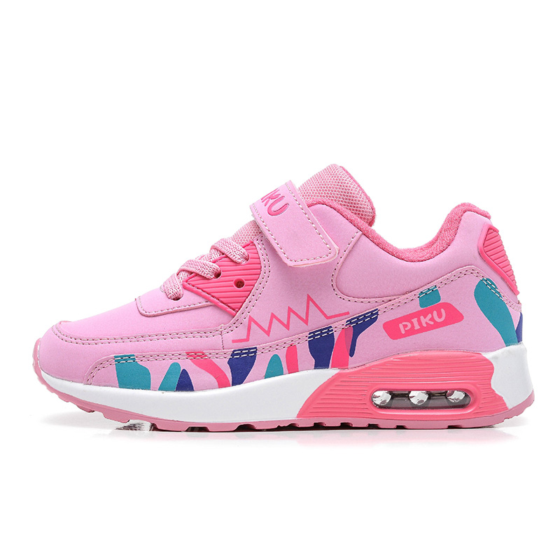 BABAYA Lovely Pink Girls Casual Sneakers Damping Air Cushion Boys Sports Shoes Running Shoes Children Casual Shoes PK-969 2017 babaya children canvas shoes girls sneakers boys tenis infantil light casual running sports shoes flat breathable loafer
