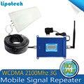 El mejor Precio! W-CDMA 2100 MHz 3G Repetidor Del Teléfono Móvil Del Teléfono inteligente 3G WCDMA UMTS $ number db AGC Amplificador de Señal Amplificador conjunto