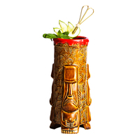Free Shipping Tiki Mug Ceramic Cup Hot Sale Beer Cup Coffee Mug Tiki Cup Ceramic Crafts