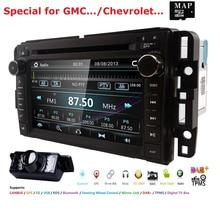 Auto DVD GPS Stereo Radio Nav Per GMC Yukon Sierra Chevrolet Chevy Tahoe Suburban CANBUS SD, USB, RDS, BLUETOOTH MirrorLink MAPPA + Cam