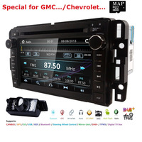 Car DVD GPS Stereo Radio Nav For GMC Yukon Sierra Chevrolet Chevy Tahoe Suburban CANBUS SD,USB,RDS,BLUETOOTH MirrorLink MAP+Cam