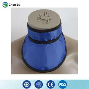 Image 2 - Medical exposure radiation protection 0.35mmpb thyroid collar x ray protective radiological department accessories
