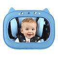 Espejo de Coche de bebé Orientados Hacia Atrás Sala Espejo Retrovisor Espejo de Coche de Seguridad, Inastillable, ajustable, fácil de instalar