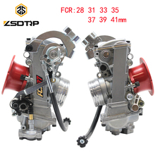 ZSDTRP FCR28 31 33 35 37 39 41mm FCR Keihin Carburetor FCR39 for CRF450/650 FS450 Husqvarna450 KTM Racing Motors Good Power