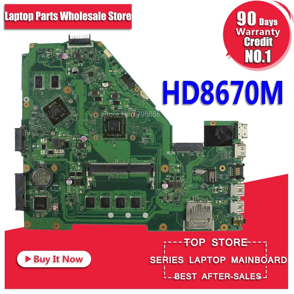 X550EP Motherboard HD8670M REV:2.0 For ASUS F552E X552E X552EP laptop Motherboard X550EP Mainboard X550EP Motherboard test ok