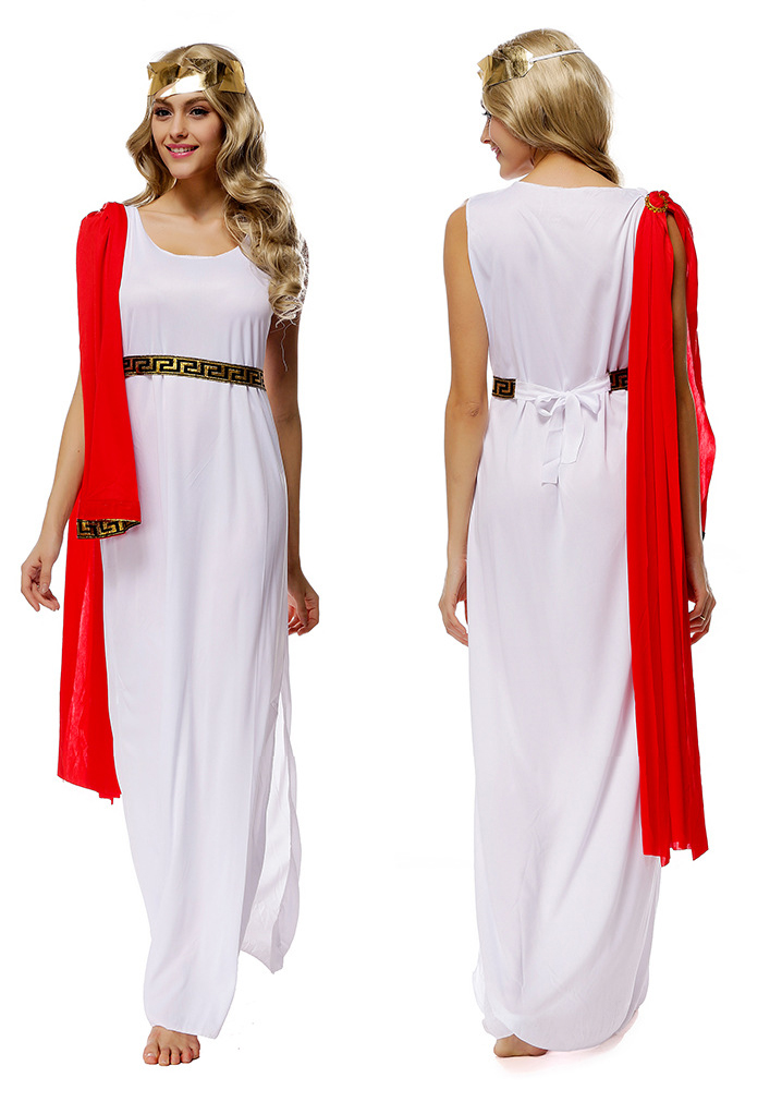 ▻Mujeres de Halloween partido Athena traje Cosplay para niñas ...