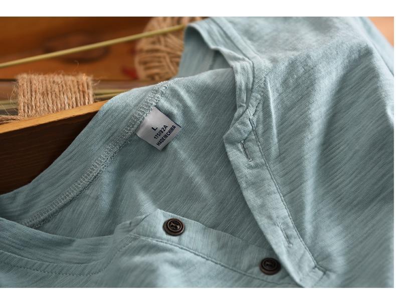 Yeni Varış Benzersiz Desigan Grand-V Yaka Düğmeleri ile Kısa - Erkek Giyim - Fotoğraf 3