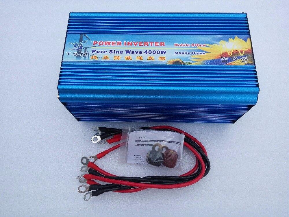 peak Power 8000W digital display Inverter 4000W DC12V/24V to AC 110V/220V Pure Sine Wave Inverter Off Grid Solar Power Inverter promotion 5000w pure sine wave solar power inverter dc 24v to ac 110v 220v digital display new
