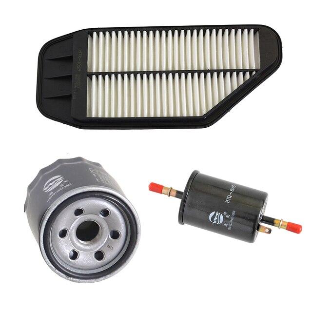 Car Engine Air Filter Oil Filter Fuel Filter for Chevrolet Spark 1.0L 2010- 96827723 9052781 96335719 1