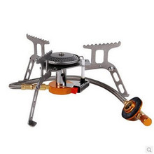 Spot high quality outdoor camping stove alpine stove camping stove gas stove electronic ignition