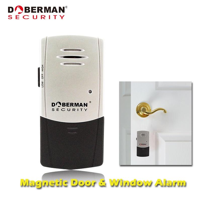 Doberman Security Sensor Alarms Door Window Vibration