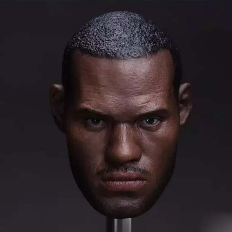1//6 Scale Rose Basketball Star Male Head Sculpt Fit 12/'/' Action Figure Toy