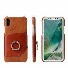 Coque pour iphone 12 mini 11 pro xs max x xr 6 6s 7 8 plus Se 2020 apple Funda Etui de luxe en cuir téléphone Coque arrière Coque