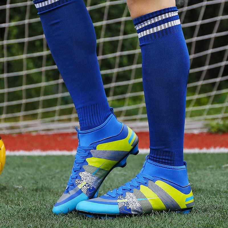 Mulheres ESPORTES profissionais Sapatos de Futebol FG MercurialX SuperflyX AG Botas De Futebol Homens Tênis de Treinamento De Elite VI Adulto Crianças Grampo