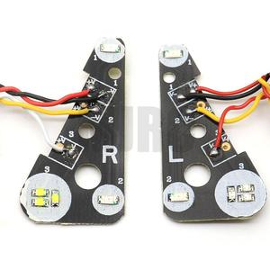 Image 2 - LED front/rear and IC headlights for 1/10 climbing car TRAXXAS Trx4 TRX 4 linkage light steering brake daytime running lights