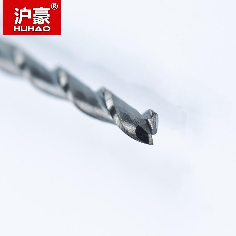HUHAO 5pc / lot 3.175mm Spirale a 2 flauti con lama CEL 3-42mm Fresa - Macchine utensili e accessori - Fotografia 3