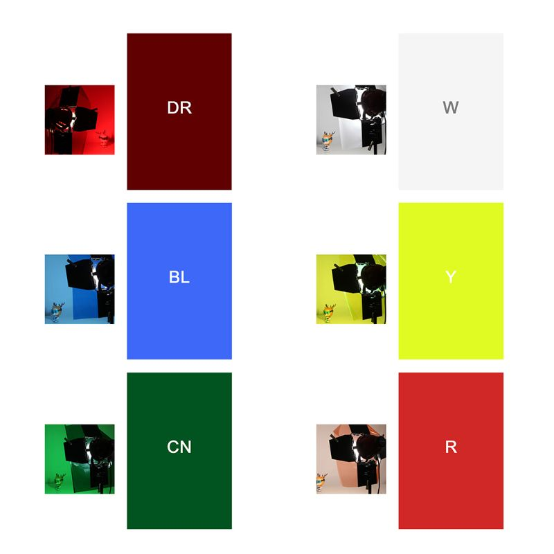 Filter Paper Photo Gels Color Stage Lighting Redhead Red