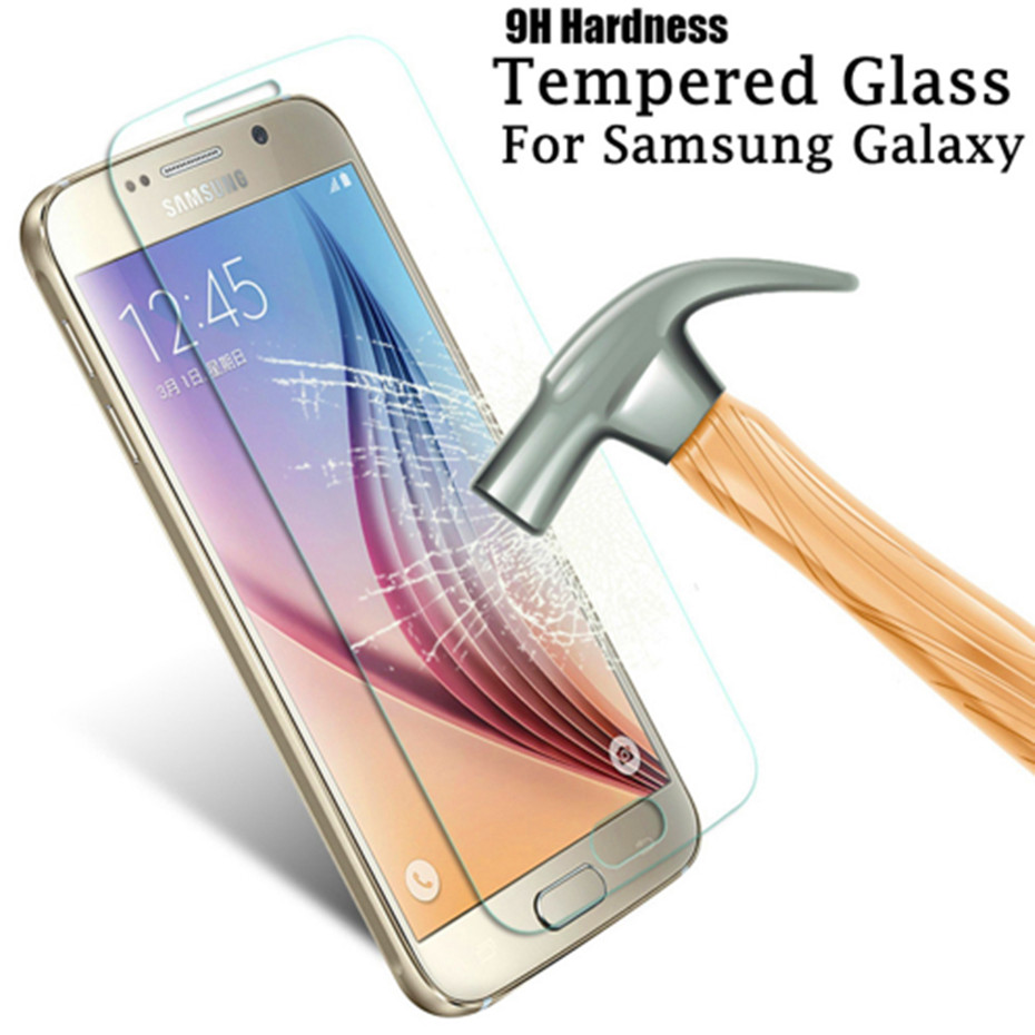 9H Ultra-thin Tempered Glass For Samsung Galaxy A5 A7 A3 2016 2017 Screen Protector For Samsung J5 J3 J7 2016 2017 Glass Film