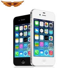 Apple iPhone 4S Apple A5 Dual Core 3,5 Inch 8/16/32/64 ГБ Встроенная память GSM 8MP Камера WI-FI gps IOS Apple 4S разблокированый мобильный телефон
