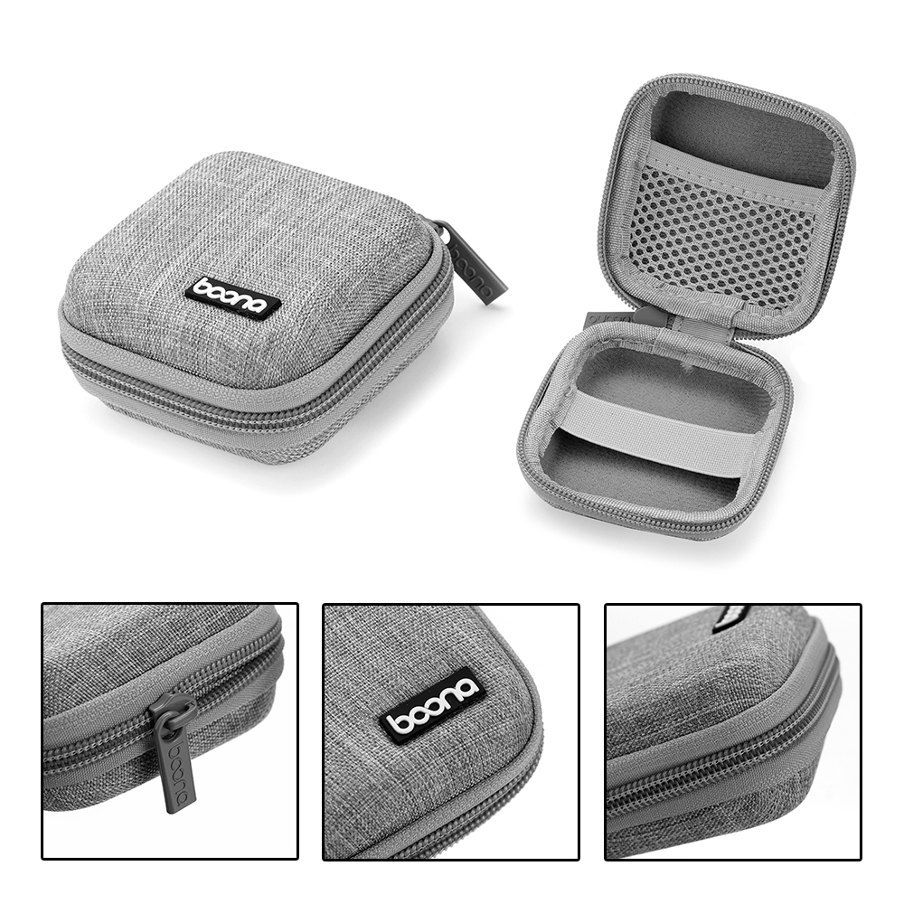 1 Pc Cable Earphone Headphone Bag Box Earbud Organizer USB Cable Memory Card