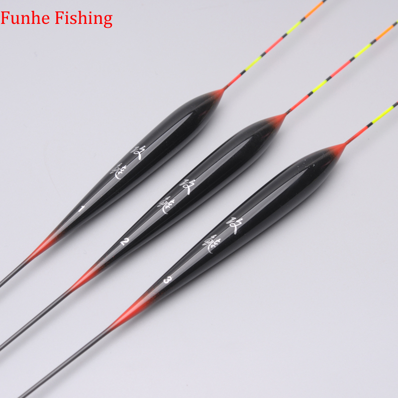 3pcs/lot Fishing Floats Bobber Carp Floats For Fishing Buoys Balsa Wood Material Flotteur De Peche Fishing Accessories Tackle-in Fishing Float from Sports & Entertainment