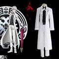 Japanese Anime K Isana Yashiro Cosplay Costume(Coat + Pants + Shirt + Belt + Bow Tie)