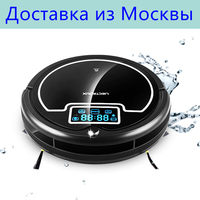 Russia Warehouse LIECTROUX B2005PLUS Intelligent Robot Vacuum Cleaner Water Tank Wet Dry Mop Touch Screen